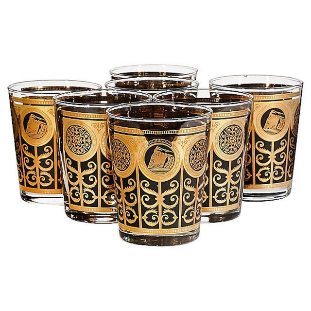 1960s 1960s Large Old Fashioned Tumblers, Set of 7 For Sale - Image 5 of 5