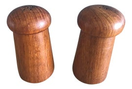 Image of Mid-Century Modern Salt and Pepper Shakers