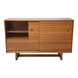 Paul Laszlo Mahogany Buffet/ Credenza For Sale