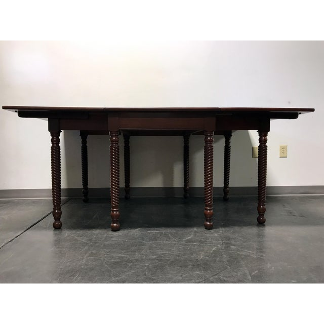 Willett Cherrywood Gate Leg Drop Leaf Dining Table For Sale - Image 10 of 11