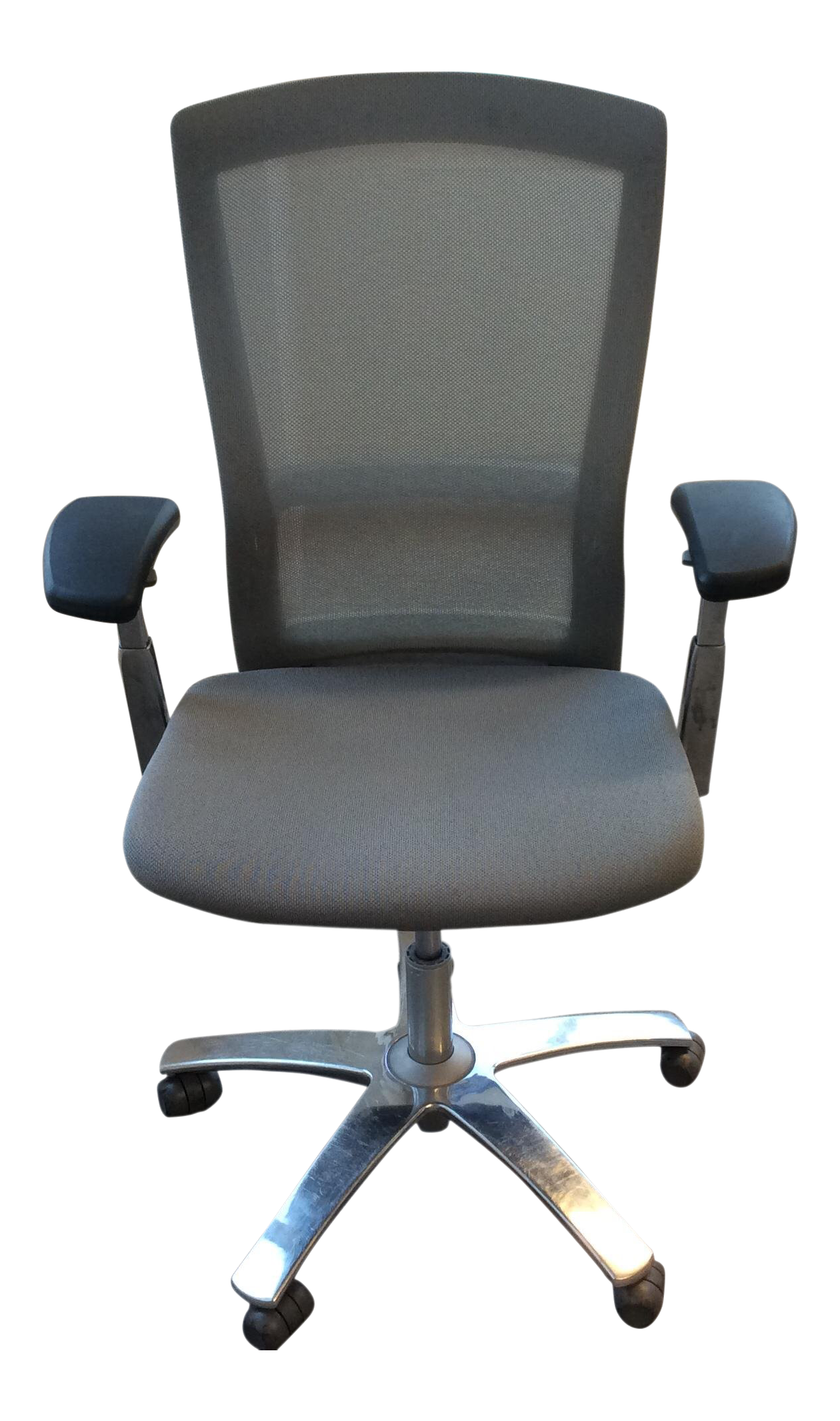 Knoll Life Chairs In Grey For Sale