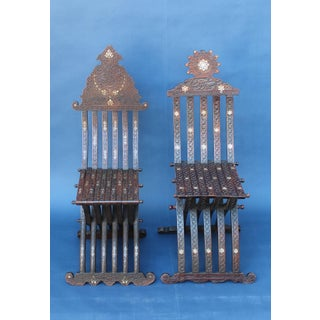 Near Pair of Syrian Scribe Chairs Preview