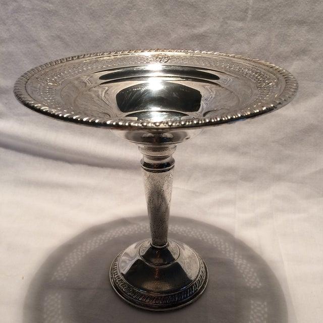 Vintage Sterling Silver Pedestal Dish - Image 4 of 10