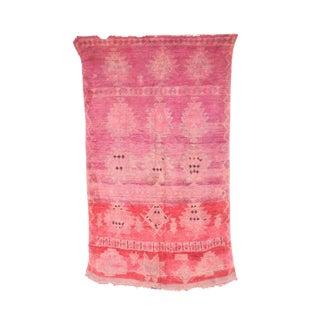 """Boujad Vintage Moroccan Rug, 5'5"""" X 9'5"""" Feet"""