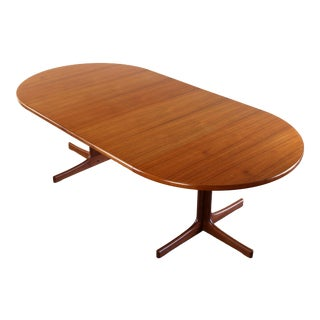 Exceptional Extension Dining / Conference Table Attributed to Niels Moller, Denmark For Sale