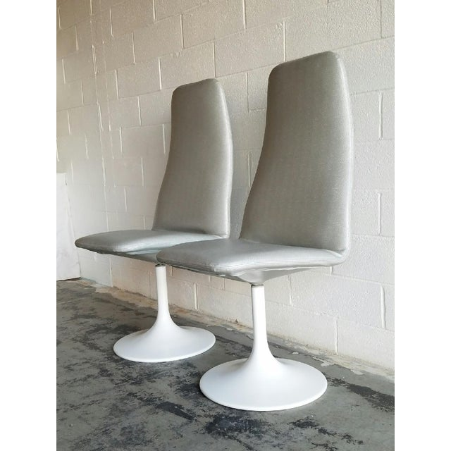 Vintage Tulip Swivel Chairs - Set of 4 For Sale In Los Angeles - Image 6 of 6