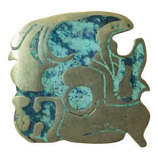 Pepe Mendoza Style Mid Century Abstract Sculpture For Sale