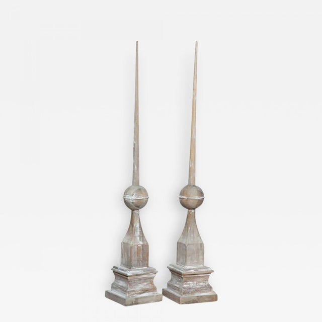 Pair of Wood Architectural Elements - Image 2 of 9
