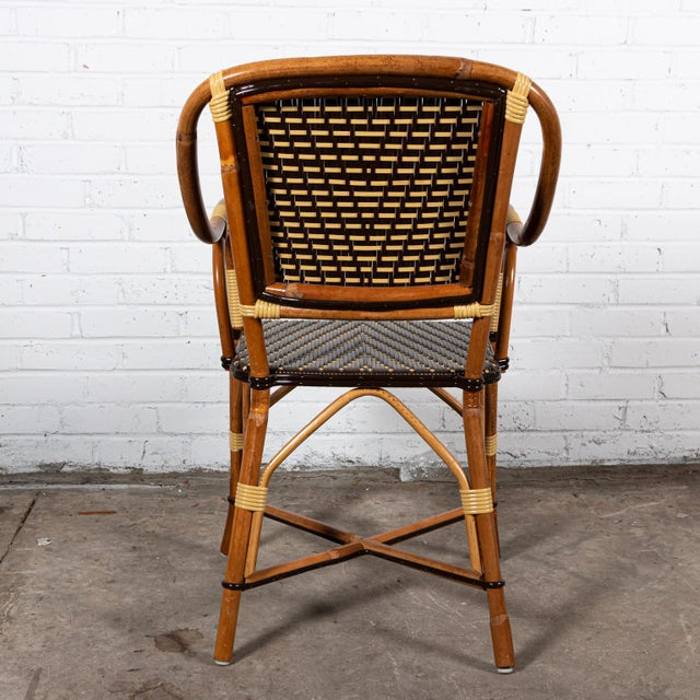 Rattan Dining Chairs- Set of 8 For Sale - Image 4 of 8