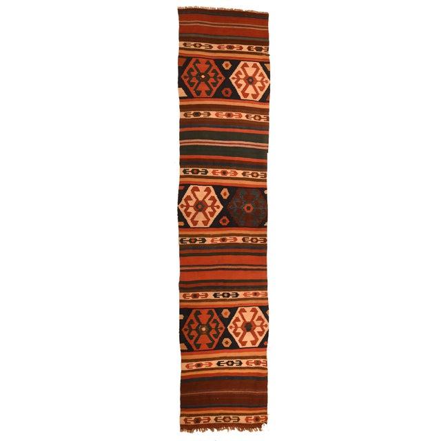 Antique Caucasian Kilim Rug For Sale - Image 4 of 4