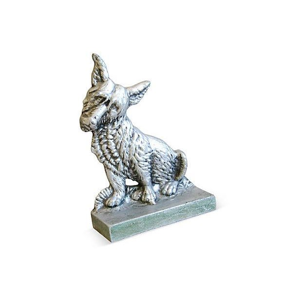 1960s Terrier Dog Bookends- A Pair - Image 5 of 6