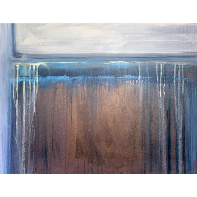 'TRAiL OF TEARS' Original Abstract Painting by Linnea Heide For Sale - Image 5 of 8
