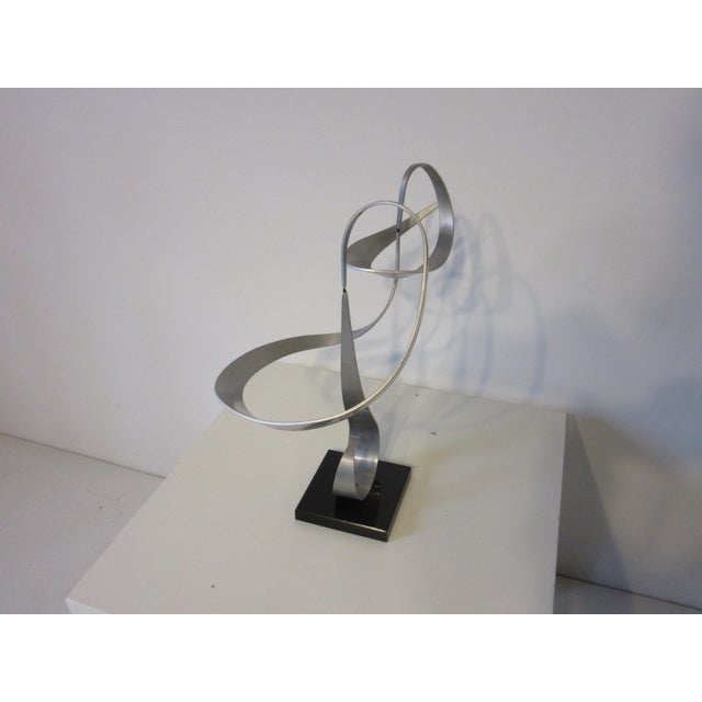 Silver John W. Anderson Kinetic Sculpture For Sale - Image 8 of 9