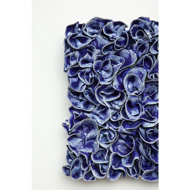 "Ceramic Anat Shiftan (Israeli – American, B. 1955) Wall ""Ruffles"", 2015-16 For Sale - Image 7 of 8"