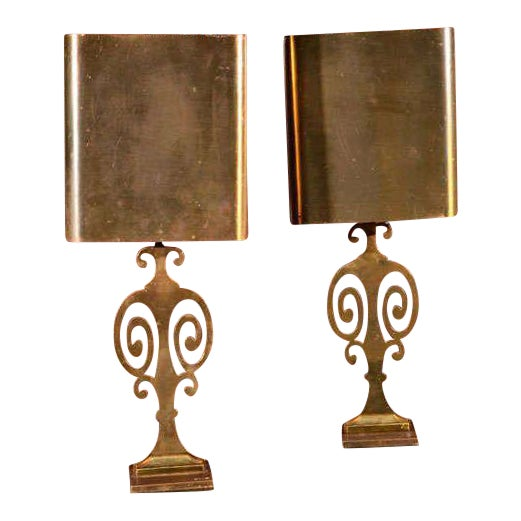 Pair Maison Charles Lamps - Image 1 of 7
