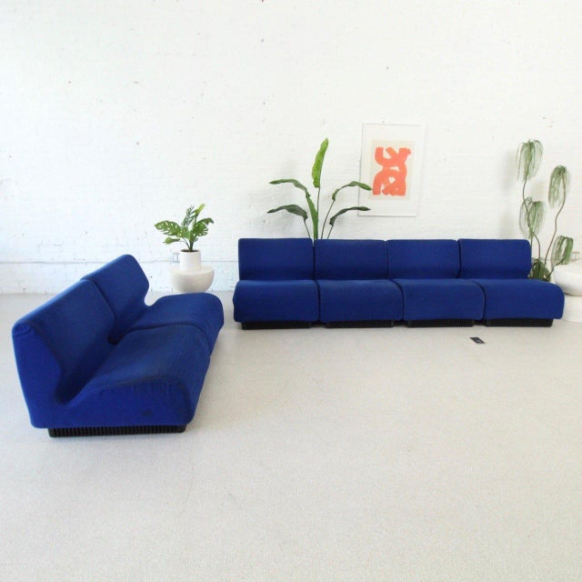 Mid-Century Modern Original 6 Piece Herman Miller by Don Chadwick Sectional For Sale - Image 3 of 6