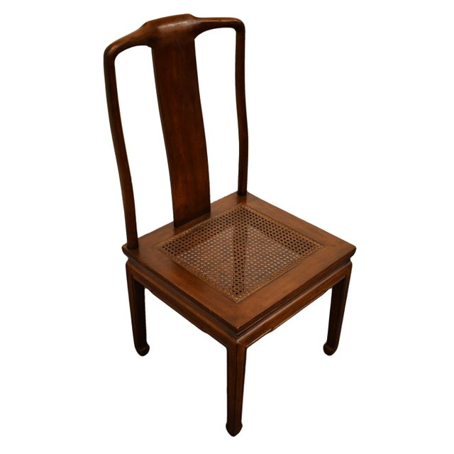 """HENREDON FURNITURE Pan Asian Collection Dining Side Chair 28-8101 40.5"""" High 19.5"""" Wide 21.5"""" Deep Seat: 17.25"""" High We..."""