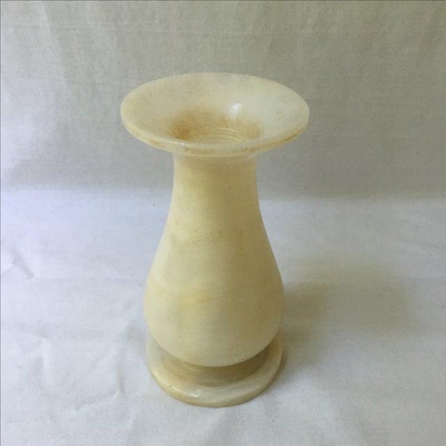 Vintage Alabaster Vase - Image 3 of 4