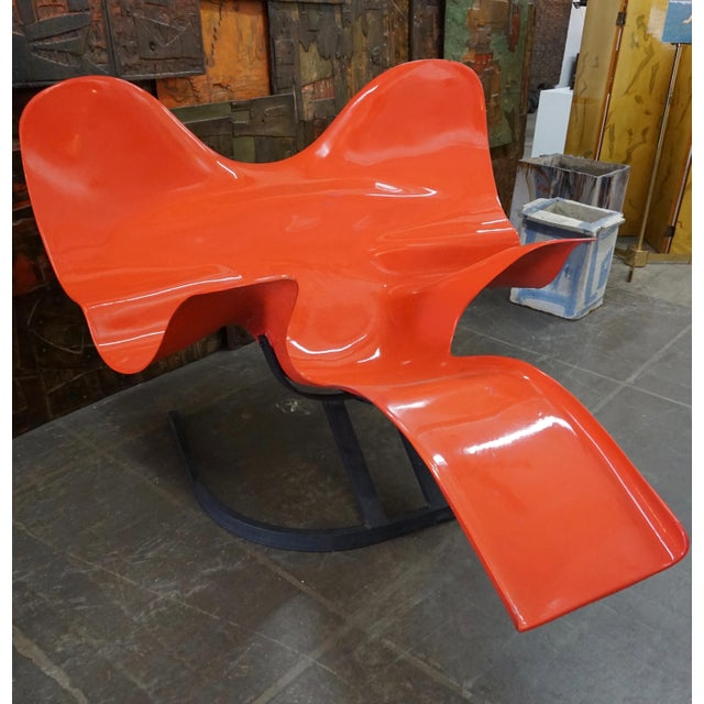 """Elephant"" Lounge Chair by Bernard Rancillac For Sale In Palm Springs - Image 6 of 6"