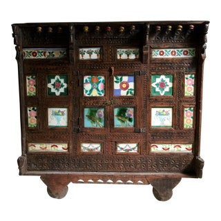 Antique Afghan Wedding Cabinate For Sale