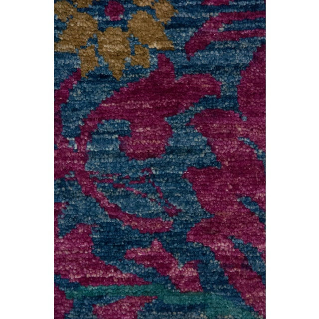 """Arts & Crafts Arts & Crafts Hand Knotted Area Rug - 4'9"""" X 7'9"""" For Sale - Image 3 of 3"""