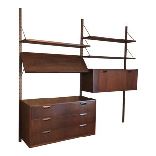 Mid-Century Modern Wall Unit by Sven Ellekjaer for Raymor For Sale