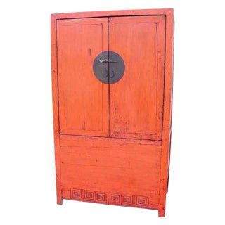 19th Century Antique Ming Wedding Cabinet For Sale