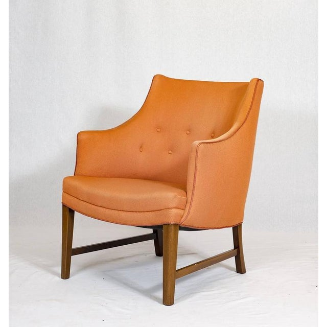 Mid-Century Modern Frits Henningsen Lounge Chair For Sale - Image 3 of 9