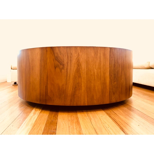 Plycraft Mid Century George Mulhauser for Plycraft Round Coffee Table For Sale - Image 4 of 5