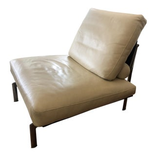 1970s Vintage Antonio Citterio B&b Diesis Leather Chair For Sale