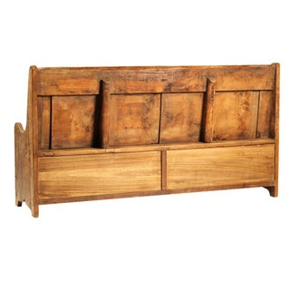 Reclaimed Wood Bench W/Drawers Preview