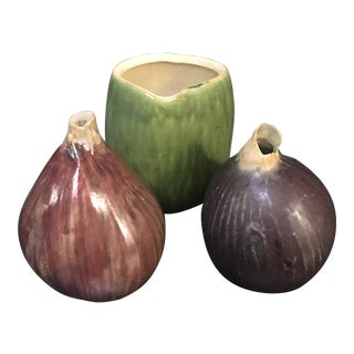 Set of 3 handmade vases