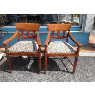 Pair of Anglo - Indian Colonial Armchairs Preview