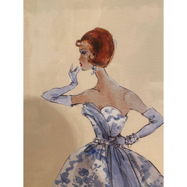 """Barbie fashion model limited edition prints by Robert Best. Each print is numbered, embossed, with a """"Certificate of..."""