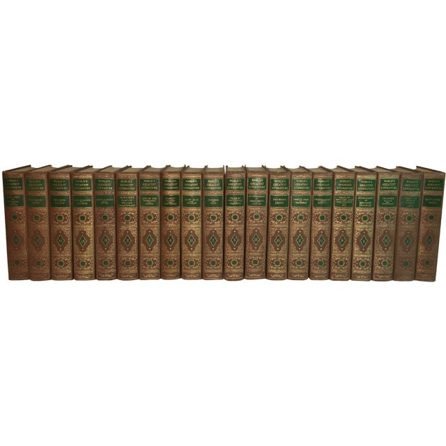 Vintage World's Greatest Literature - Set of 20 - Image 1 of 8