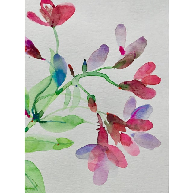 Original watercolor painting on Caslon Paper, Botanical series 4