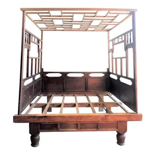 19th Century Chinese Enclosed Bedframe For Sale