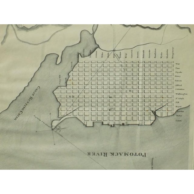 1944 Alexandria, Virginia Town Plan For Sale - Image 6 of 7