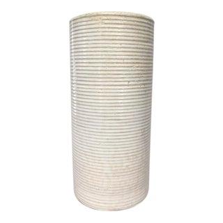 Zanesville Stoneage Modern Large Rustic Stoneware Vase