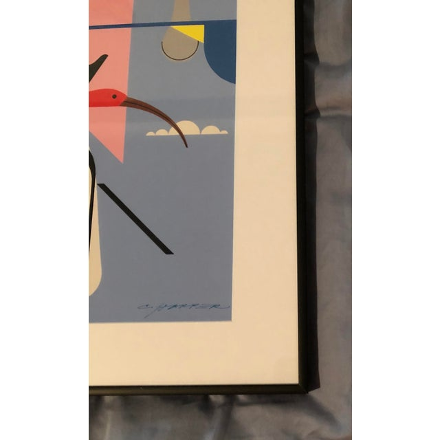 "Charley Harper Framed ""Wings of the World"" Print - Image 2 of 7"