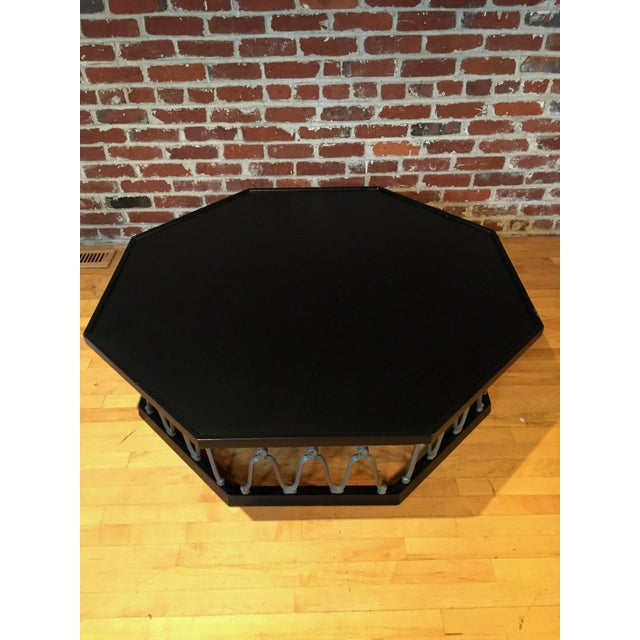 1960s Mid-Century Modern John Van Koert for Drexel Ebonized Casa Del Sol Coffee Table For Sale In Philadelphia - Image 6 of 7