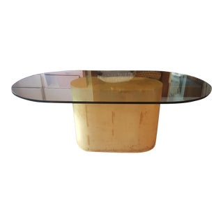 Karl Springer Goat Skin Dining Table For Sale
