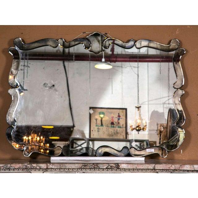 Vintage Art Deco Mirror - Image 2 of 5