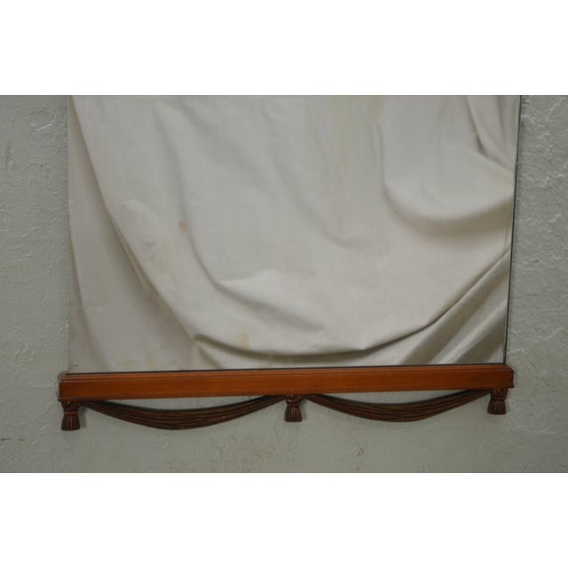 1930s Partial Gilt Frame Hanging Wall Mirror For Sale In Philadelphia - Image 6 of 10