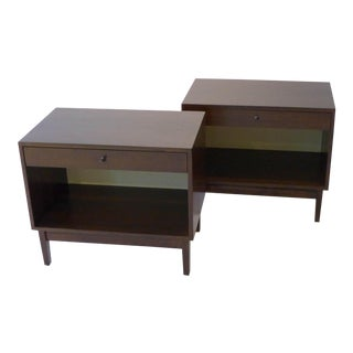 Pair of Calvin Furniture Nightstands For Sale