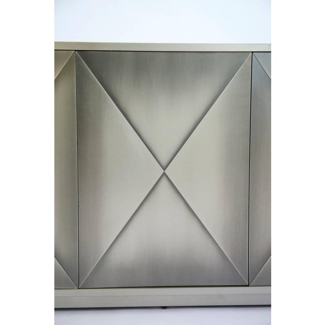 Design Institute of America Painted Steel Buffet For Sale In New York - Image 6 of 10