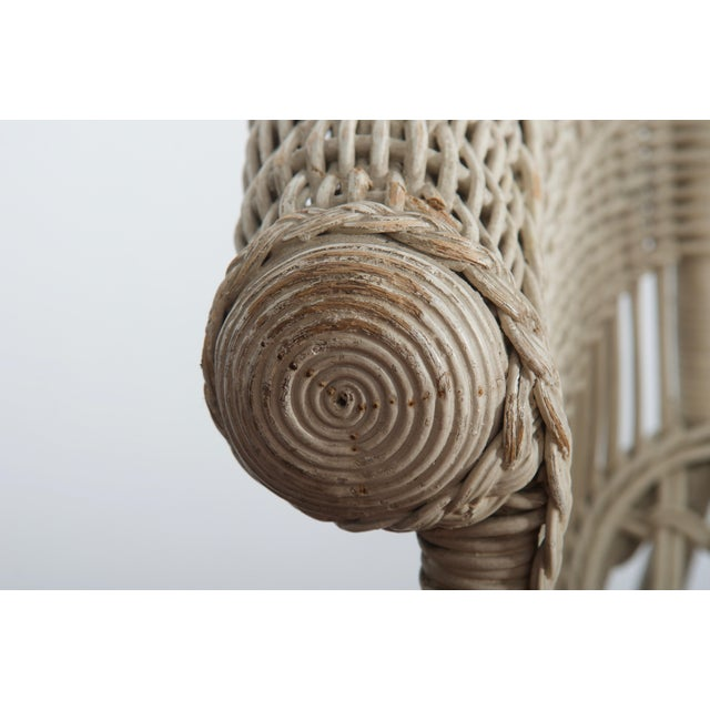 Traditional Rare Vienna Secession Wicker Armchairs by Hans Vollmer for Prag-Rudniker For Sale - Image 3 of 11