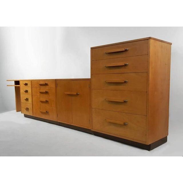 'Flexible Home Arrangement' Modular Birch Cabinet System by Eliel Saarinen - Image 2 of 8