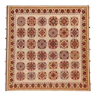 Contemporary Baluchi Folk Rug - 6′6″ × 6′7″ For Sale