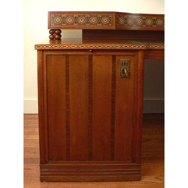 Early 20th Century Jugendstil Desk after Olbrich For Sale - Image 5 of 7